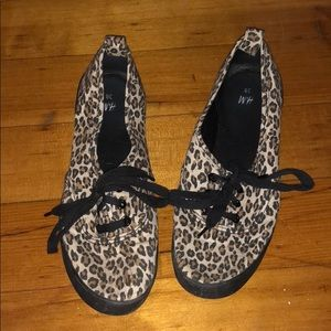 H&M Leopard Print Sneakers